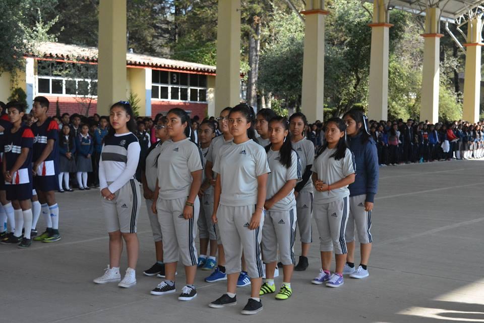 Abanderamiento Delegación Deportiva 4to Encuentro Deportivo UEMSTIS Estatal CBTIS 2