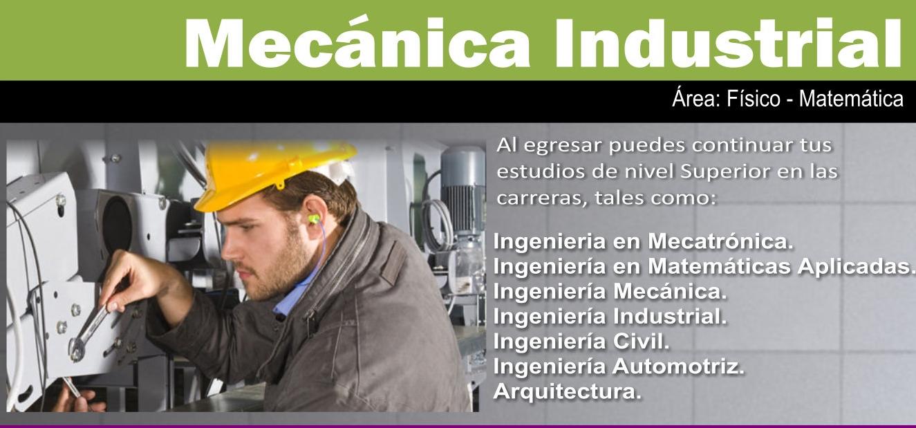 BT. EN MECÁNICA INDUSTRIAL
