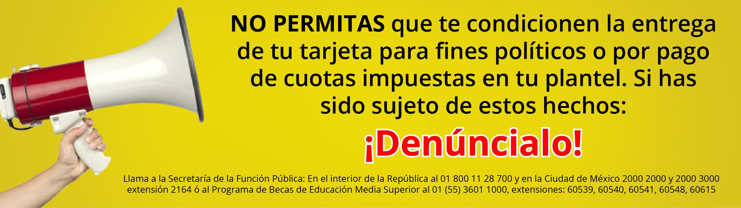 NO PERMITAS CONDICIONAMIENTO DE PAGO